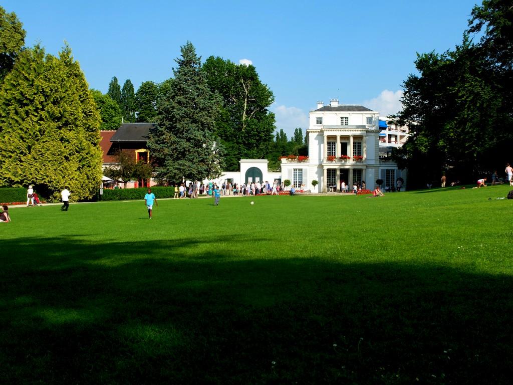 Propriété Caillebotte, Yerres - Le Parc et le casin
