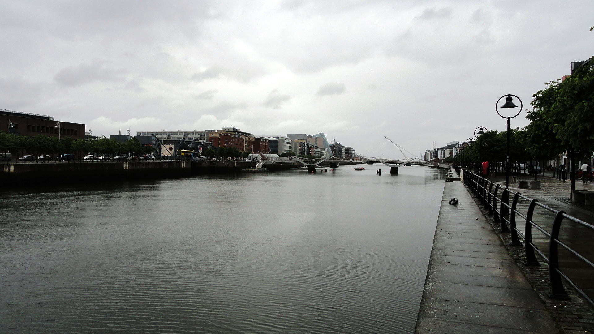 Dublin - Balade le long de la Liffey