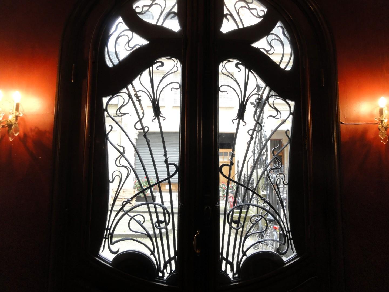 Square Rapp - Immeuble Art Nouveau - Lavirotte