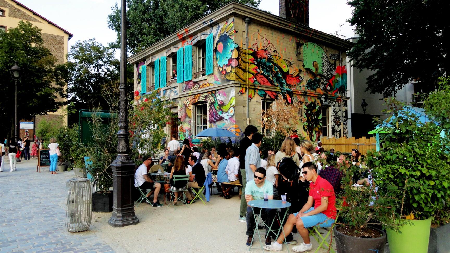 Canal de l'Ourcq - Paris - Pavillon des Canaux
