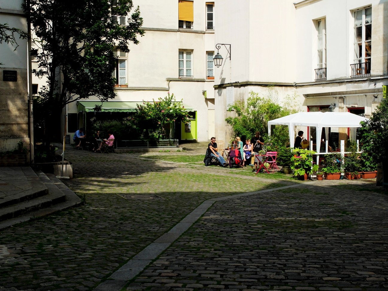 Balade dans le Marais - Village Saint Paul