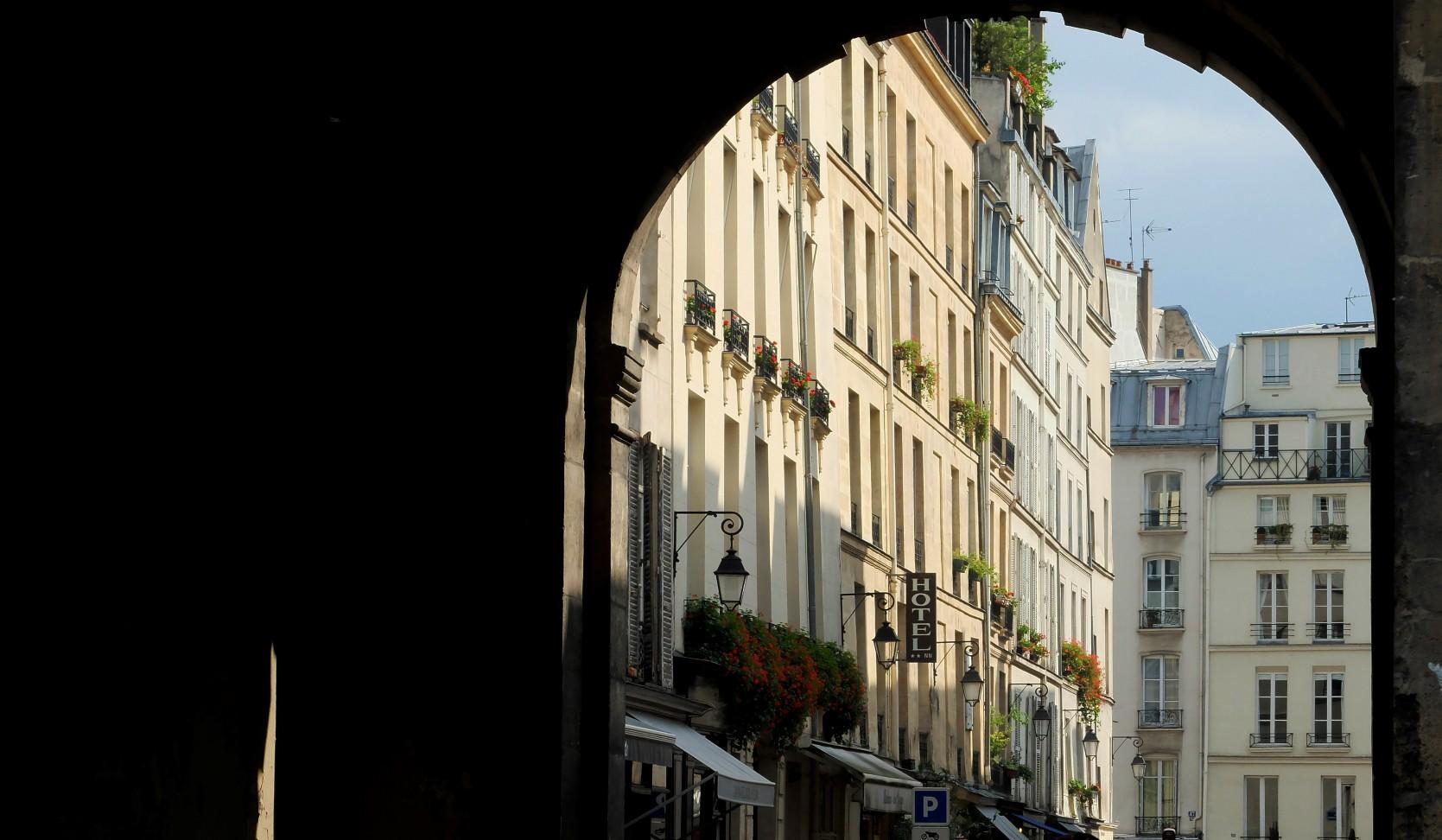 Balade dans le Marais - La Place des Vosges