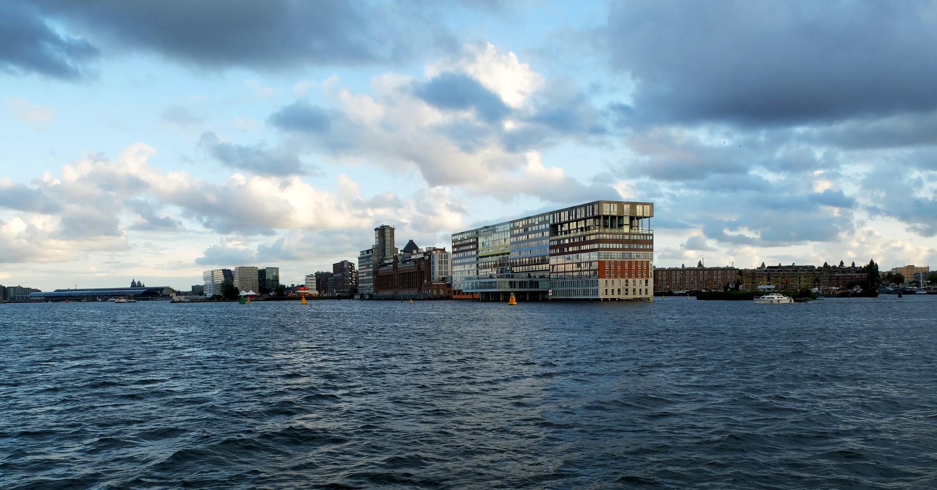 Amsterdam - Sur l'Ij - Le SILODAM