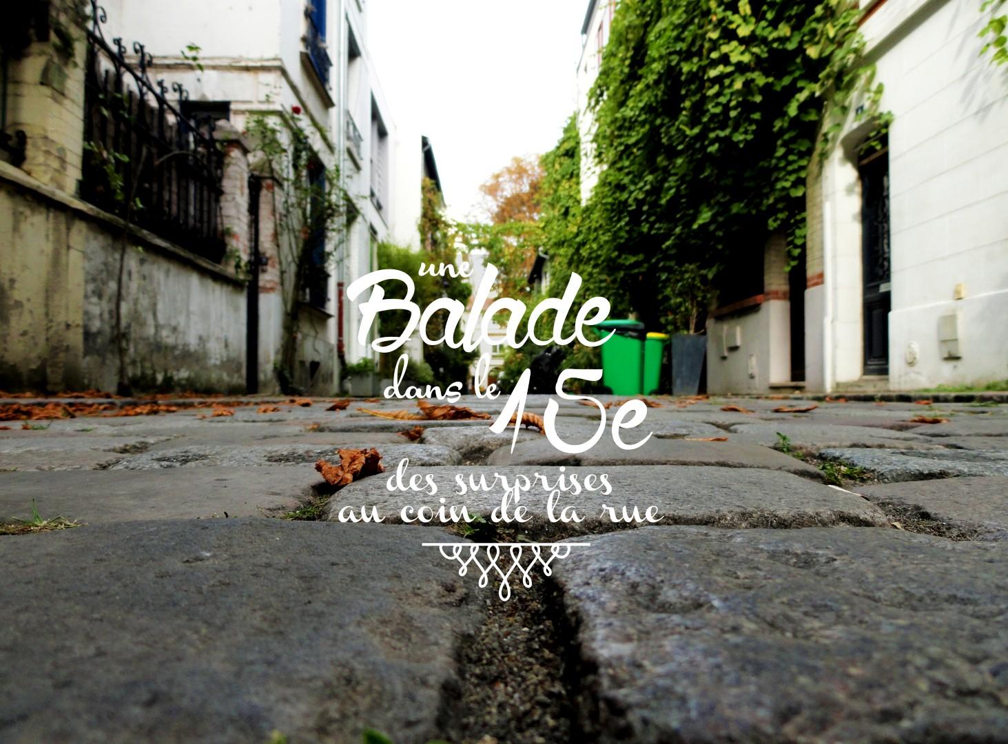 Balade dans le 15e - Vaugirard, Parc Georges Brassens, Petite Ceinture