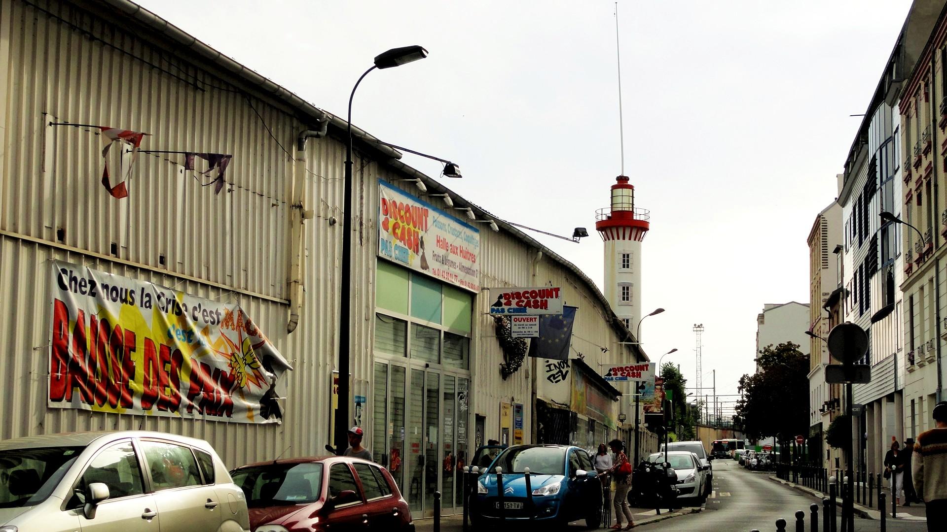 Balade dans le 15e - Rue Castagnary