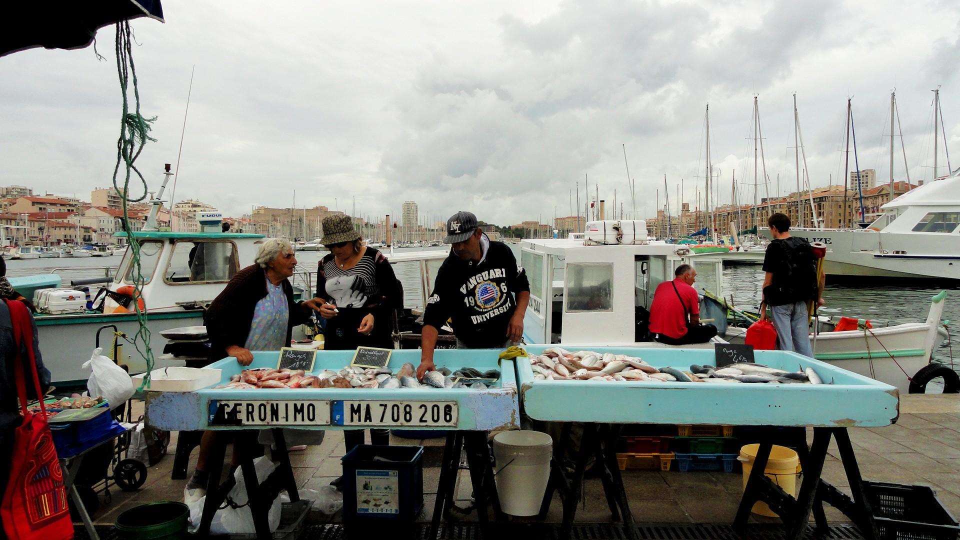 Quelques jours dans le Sud - Marseille, vieux port