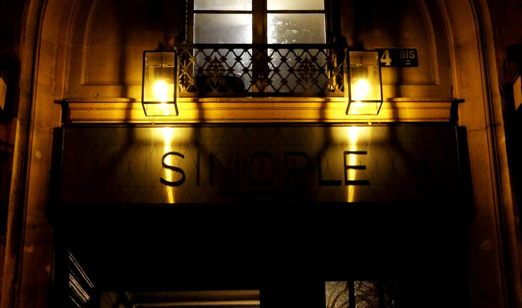 Le Sinople, restaurant _ Quartier Montorgueil