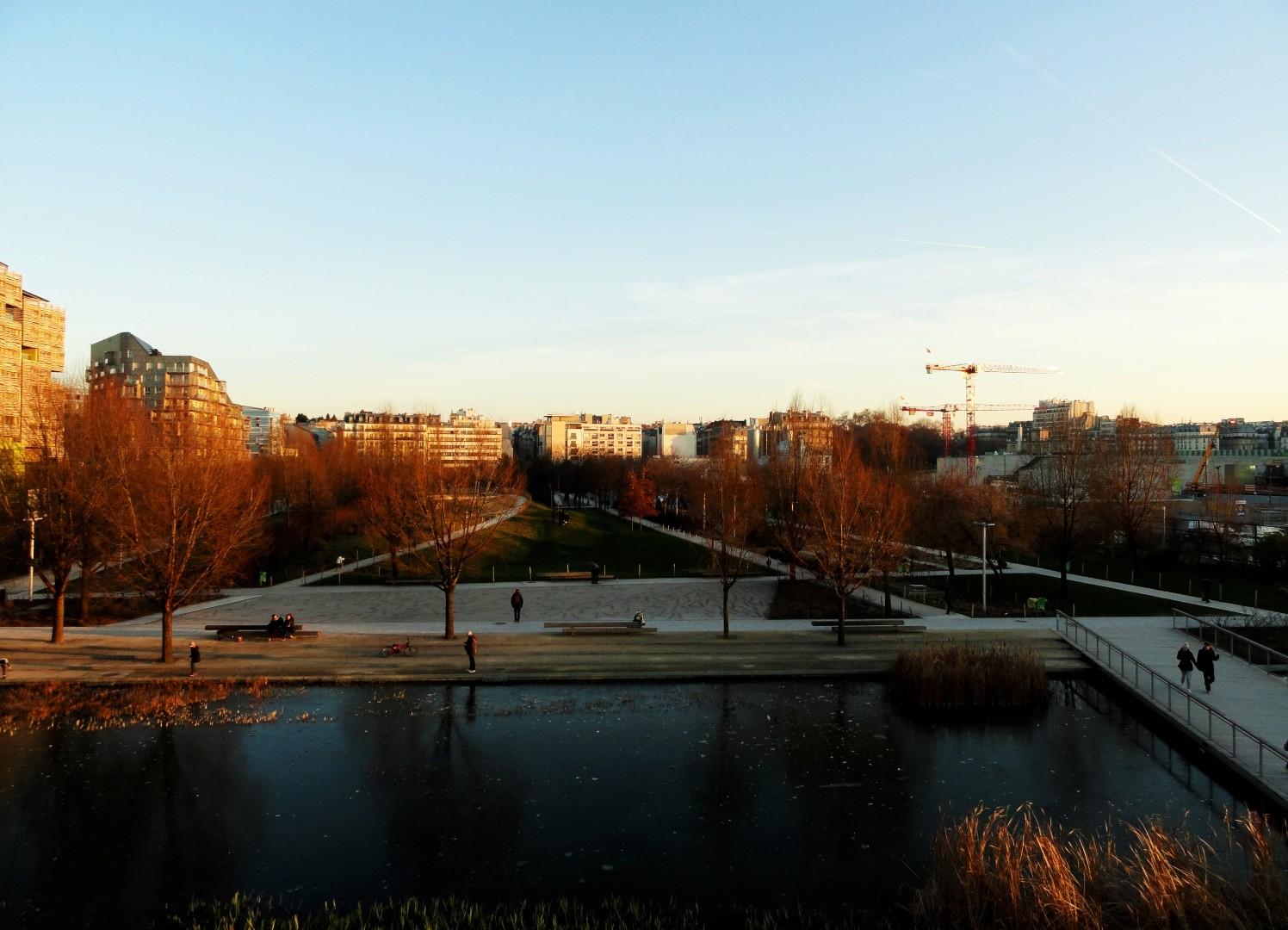Balade le long de la Petite Ceinture (17e et 18e) - Quartier Clichy-Batignolles , Parc Martin Luther King