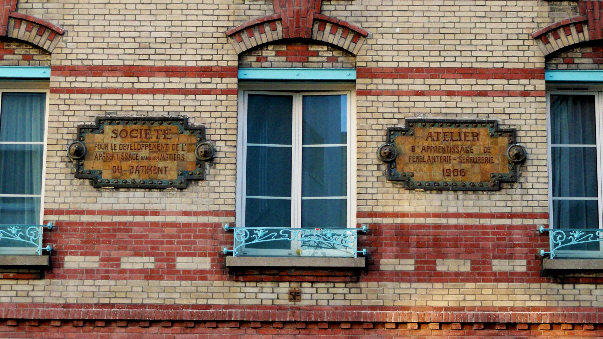 Balade le long de la Petite Ceinture (17e et 18e) - Façade rue des Epinettes