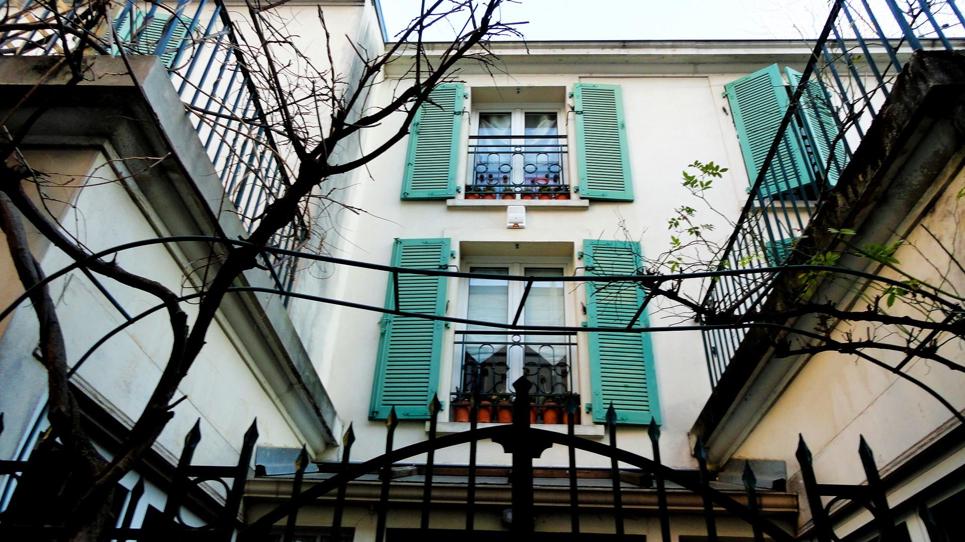 Balade le long de la Petite Ceinture (17e et 18e) - Impasse Deligny