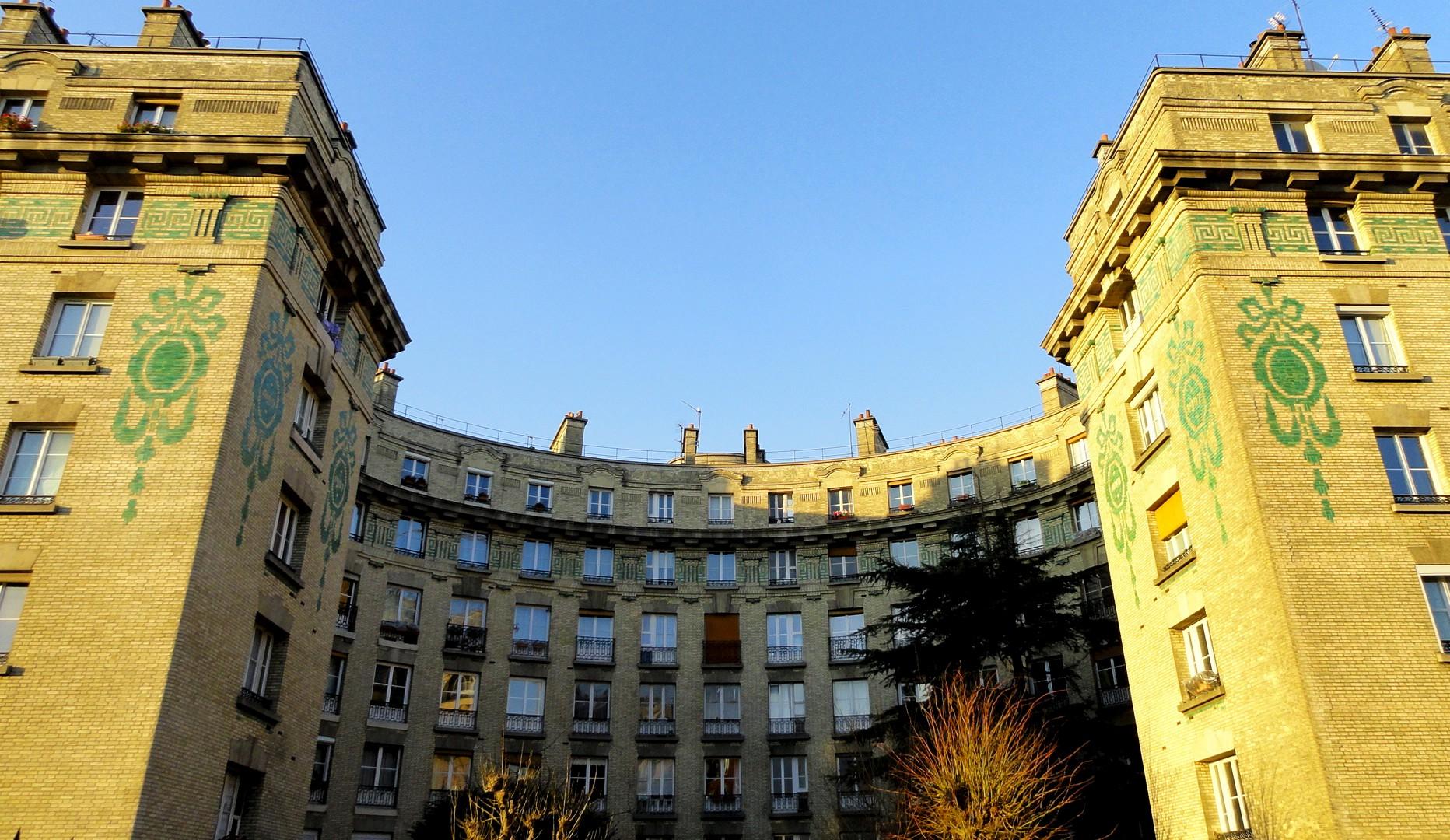 Balade le long de la Petite Ceinture (17e et 18e) - Quartier des Epinettes