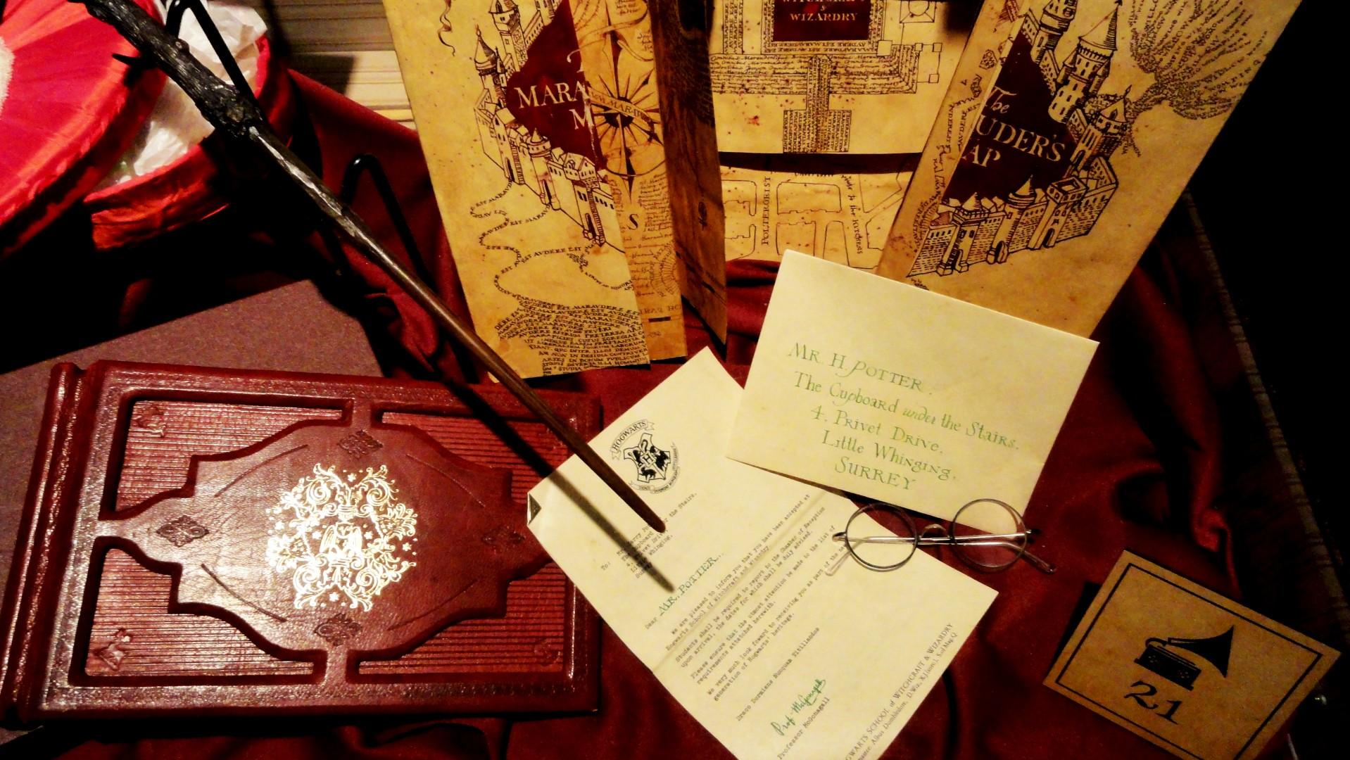 L'absence - Exposition Harry Potter à la Cité du Cinéma