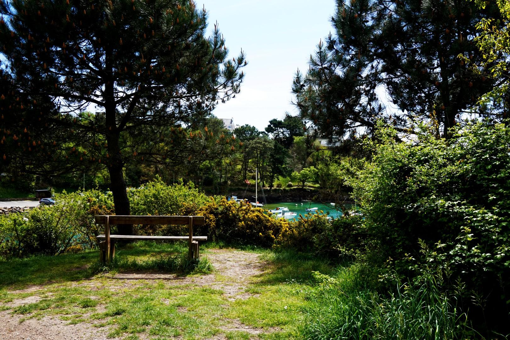 Vacances dans le Finistère Sud - Port de Mérien