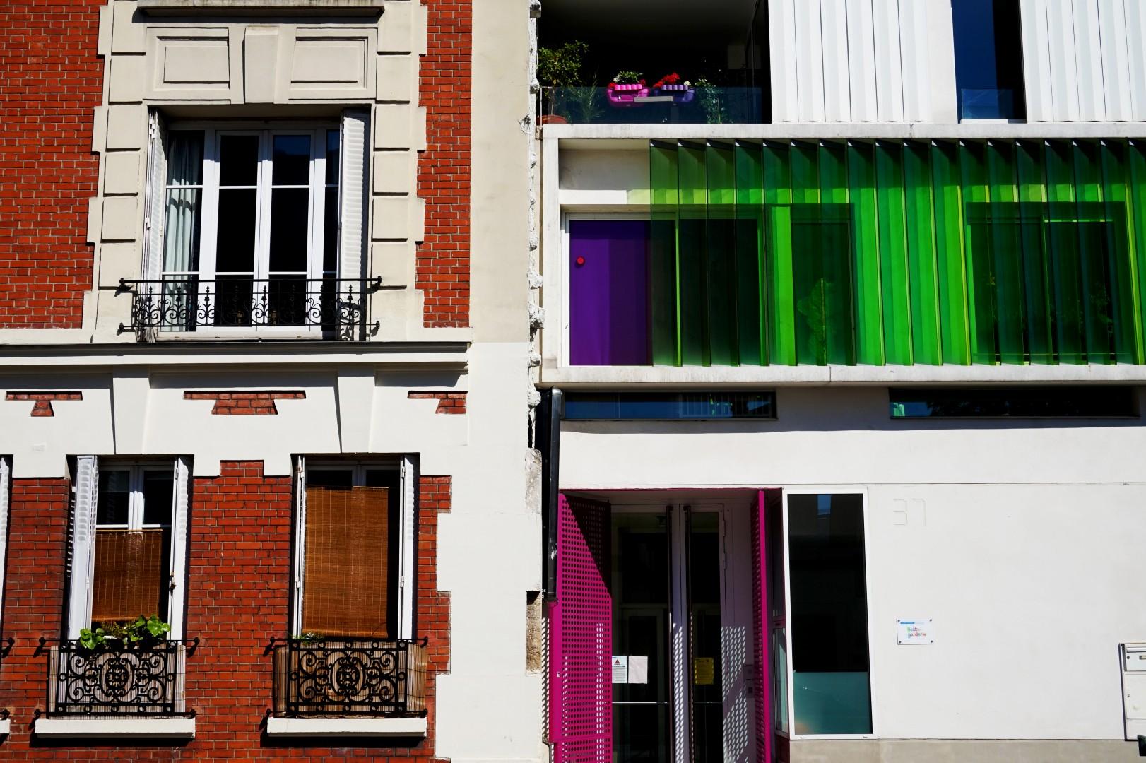 Balade autour de la Butte aux Cailles (Paris 13e) - Rue Vergniaud