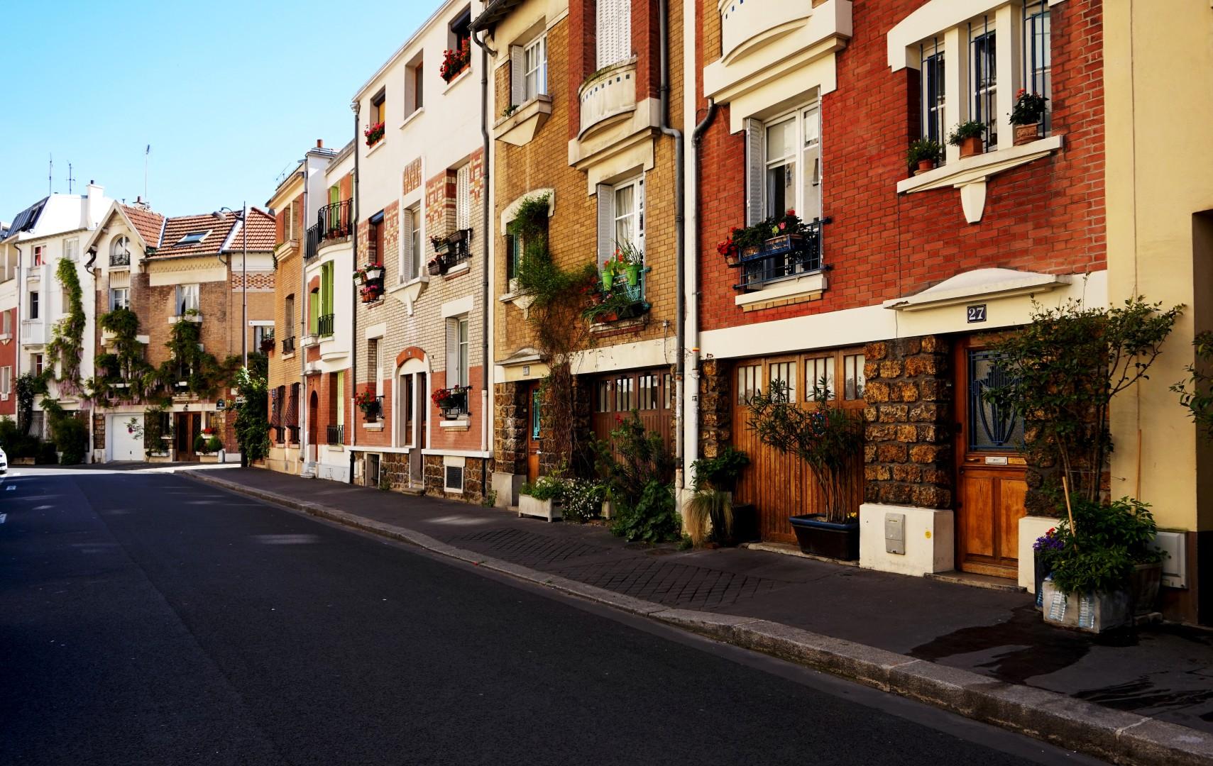 Balade autour de la Butte aux Cailles (Paris 13e) - Rue des Orchidées