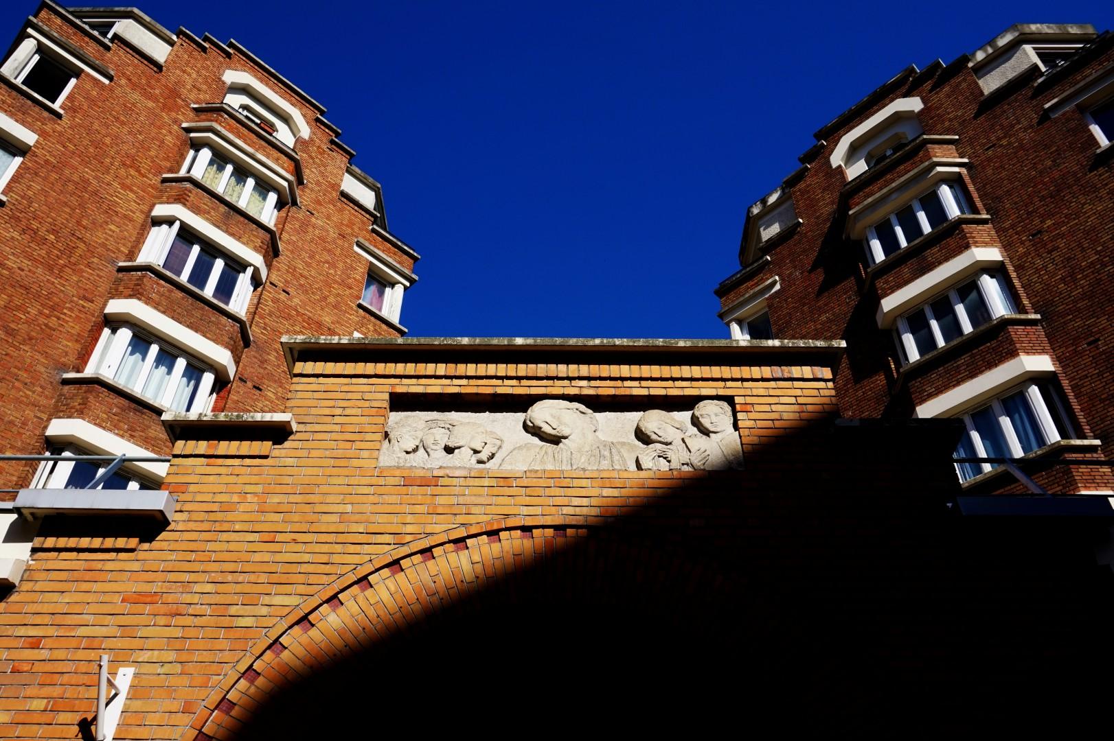 Balade autour de la Butte aux Cailles ( 13e) - Rue de l'Interne Loeb