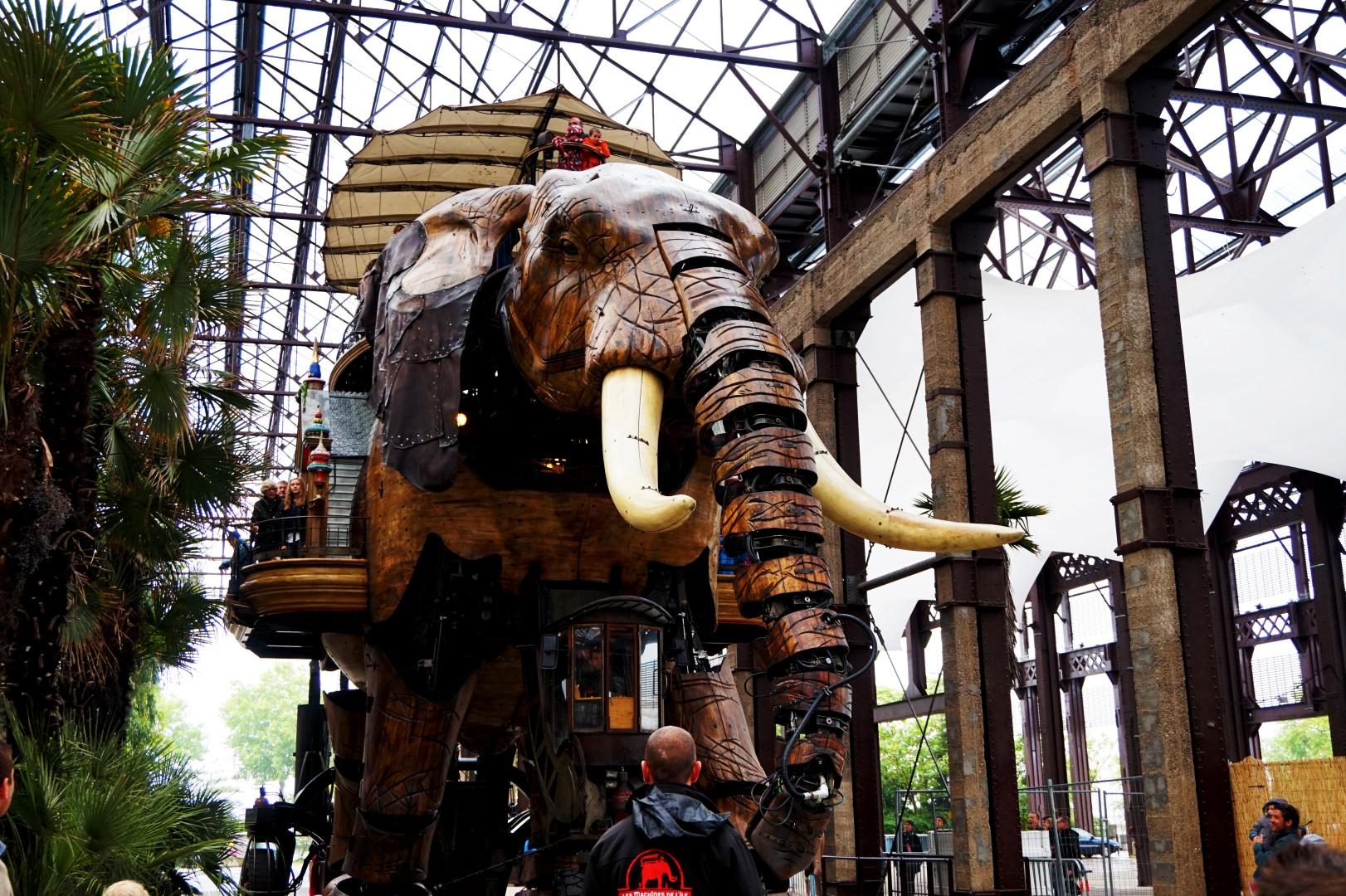 Un weekend à Nantes - Ile de Nantes - Les Machines de l'ïle - L'éléphant