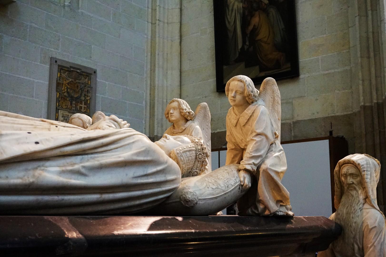 Un weekend à Nantes - Cathédrale Saint Pierre Saint Paul - Tombeau de François II et Marguerite de Foix)