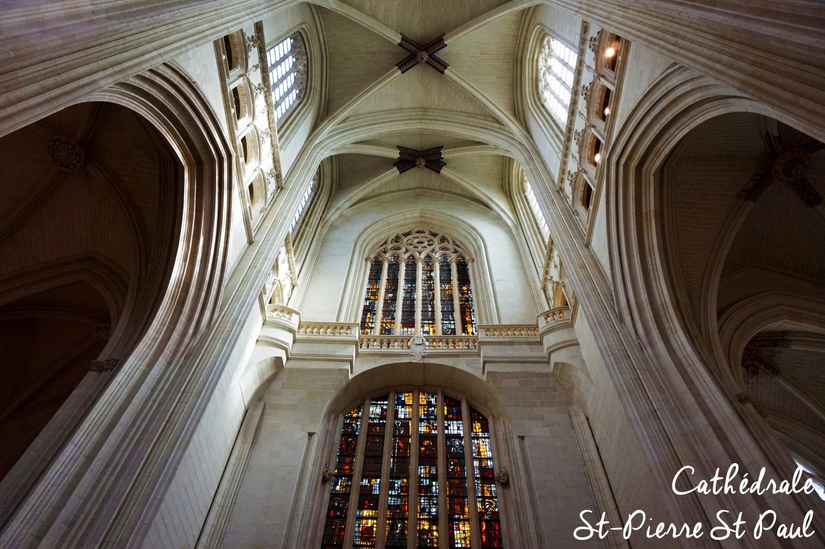 Un weekend à Nantes - Cathédrale Saint Pierre Saint Paul