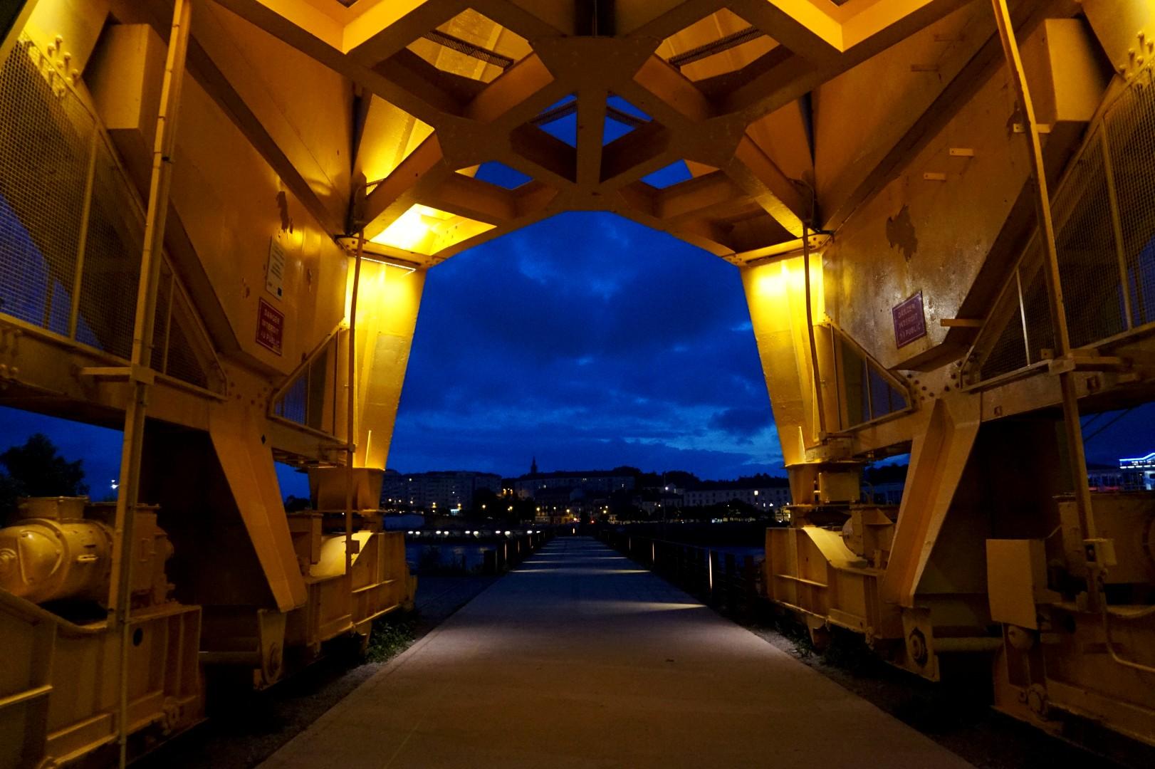 Un weekend à Nantes - Ile de Nantes - Parc des Chantiers - La nuit