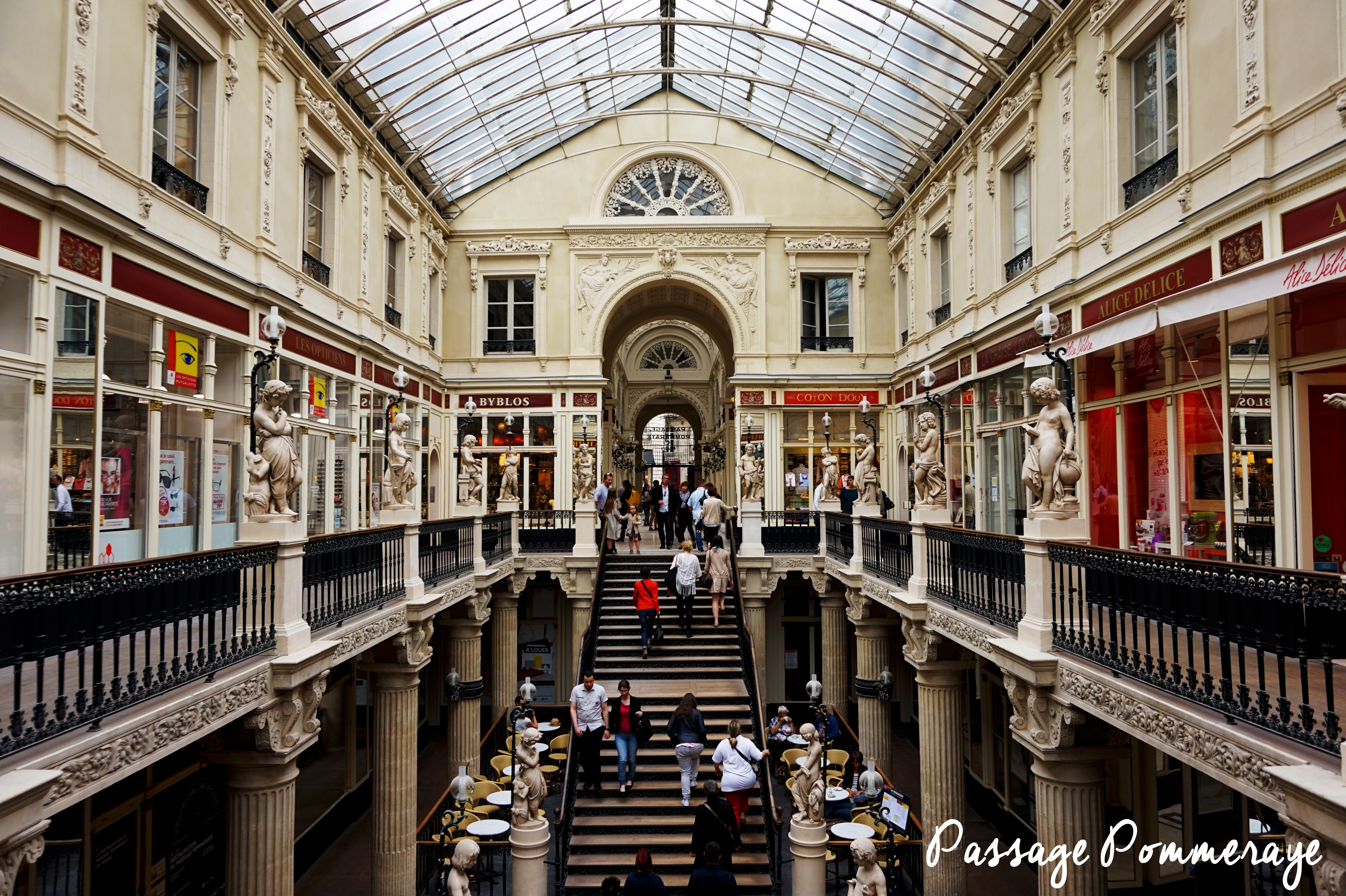 Un weekend à Nantes - Passage Pommeraye