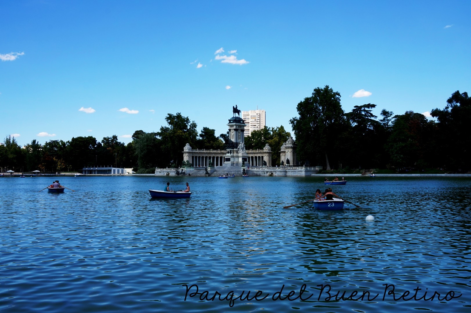 Madrid - Le Retiro
