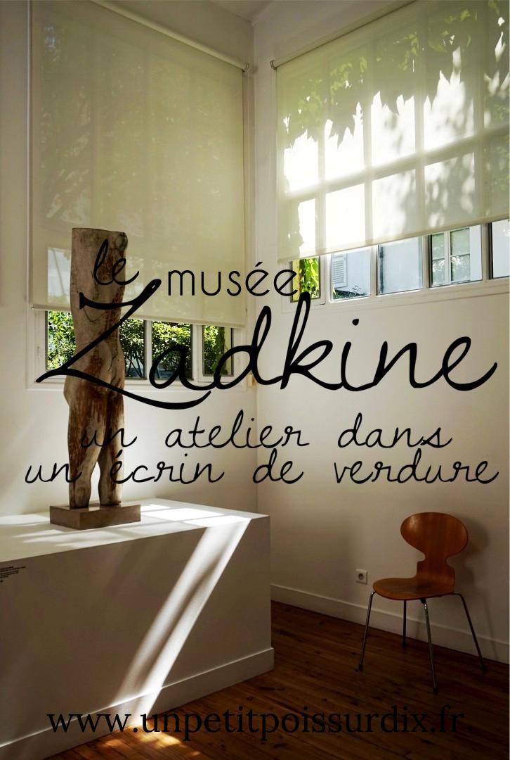 Musée Zadkine - Un atelier musée