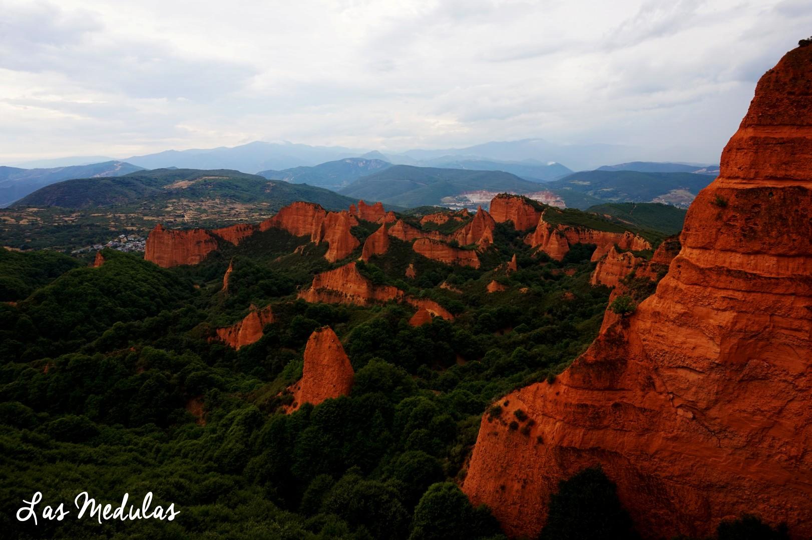 Sur les routes de Galice - Las Medulas