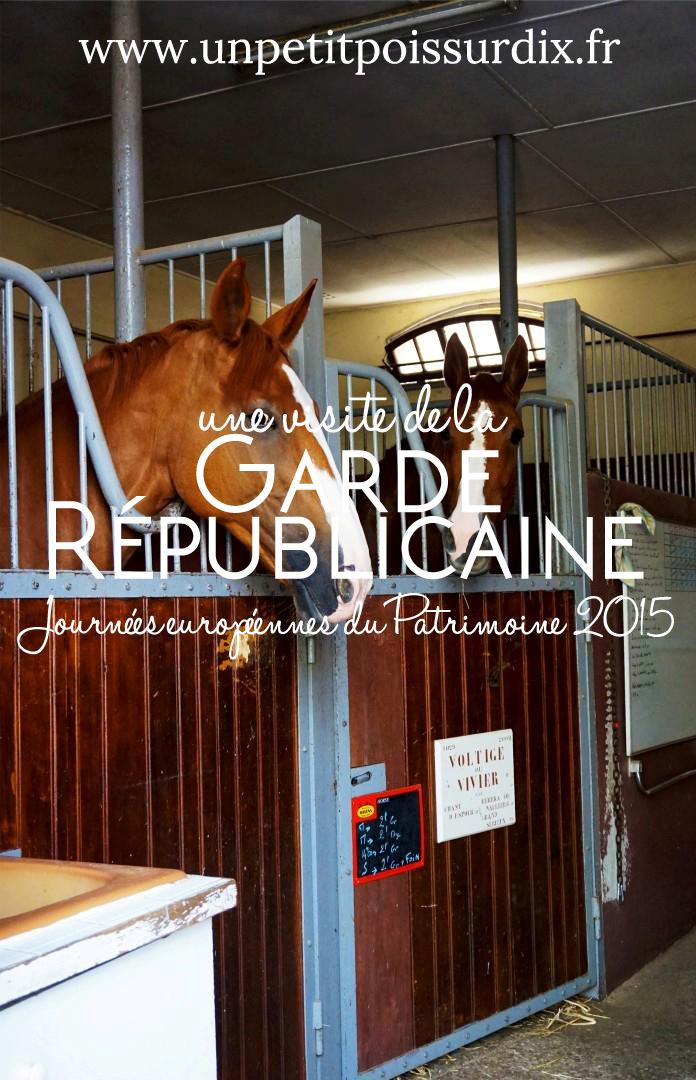 Visite de la Garde Républicaine
