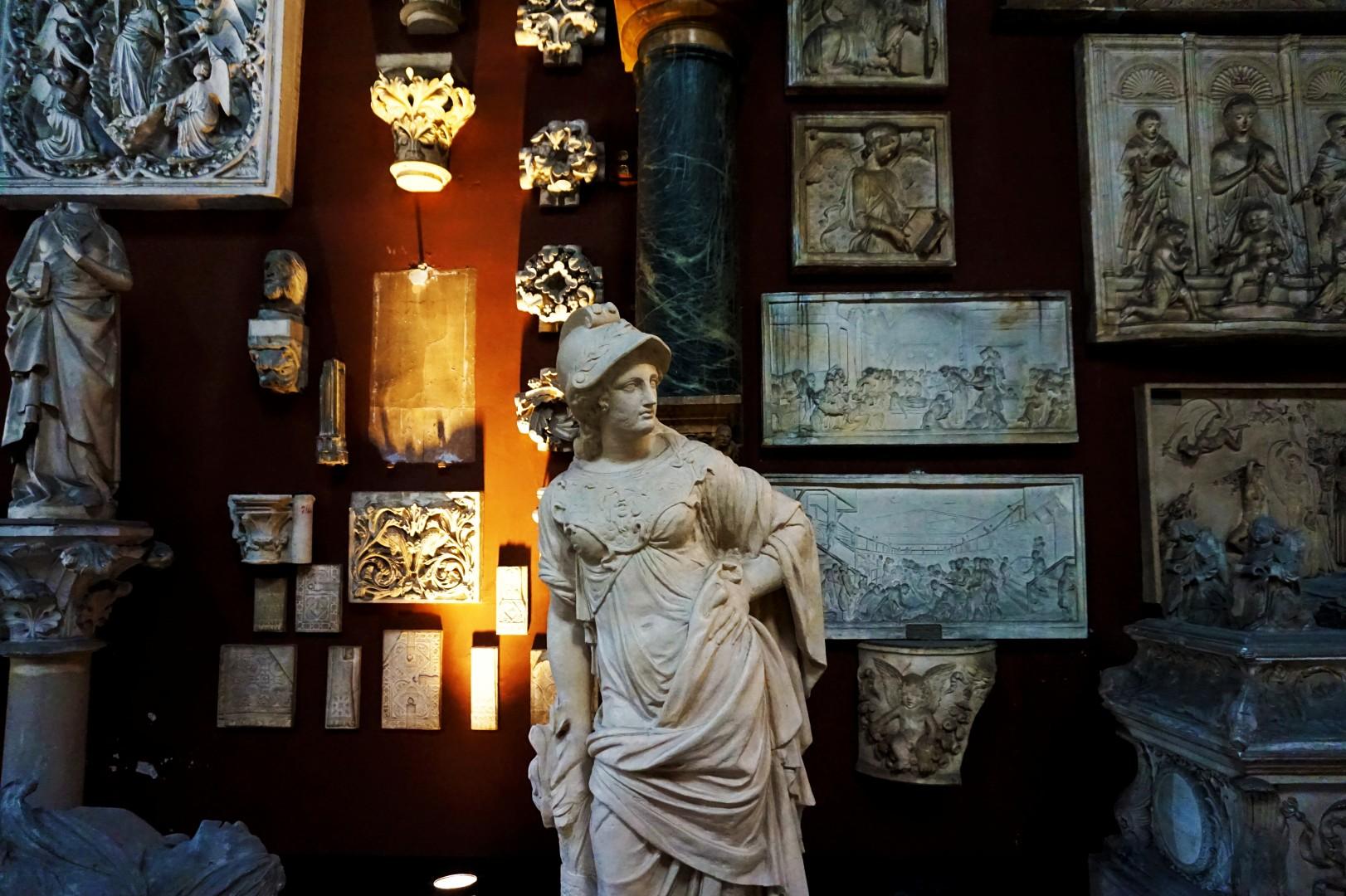 Beaux Arts de Paris - Chapelle - Musée des Copies