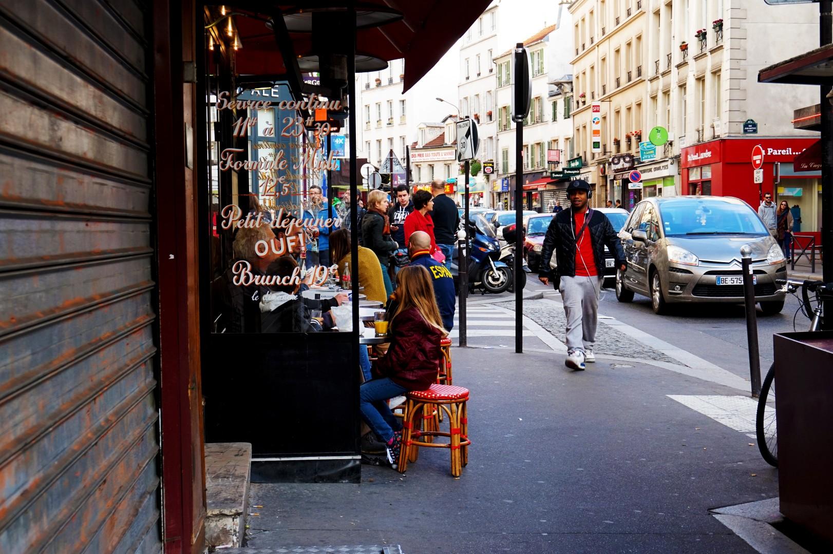 Balade dans le 19e et 20e - Rue de Belleville
