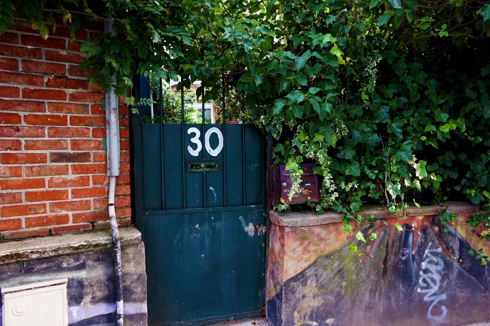 Balade dans le 19e et 20e - Villa Georgina