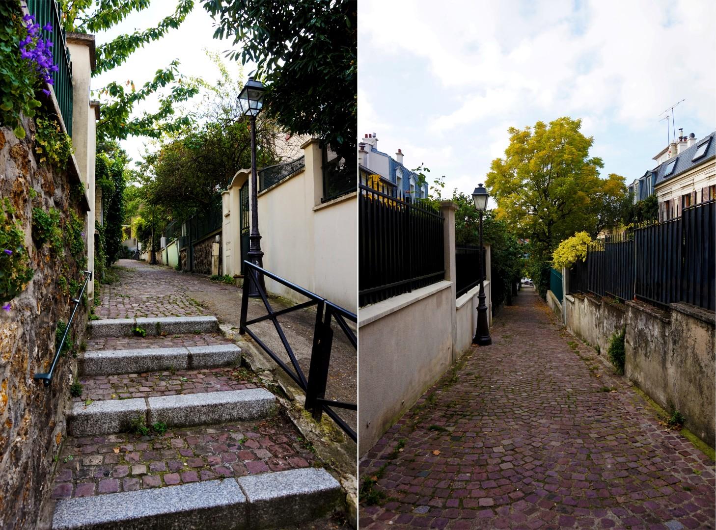 Balade dans le 19e et 20e - Quartier de la Mouzaïa