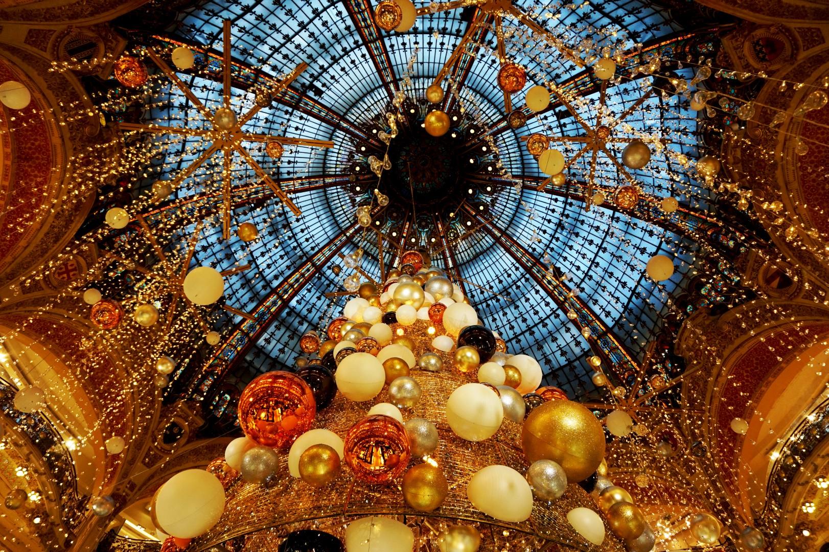 Noël à Paris - Sapin des Galeries Lafayette 2015