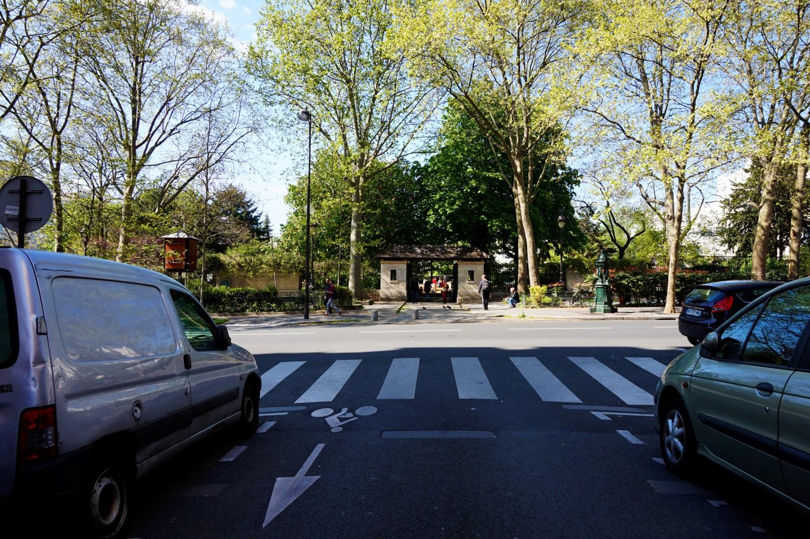 Balade dans le 11e - Rue de la Roquette - emplacement de la guillotine