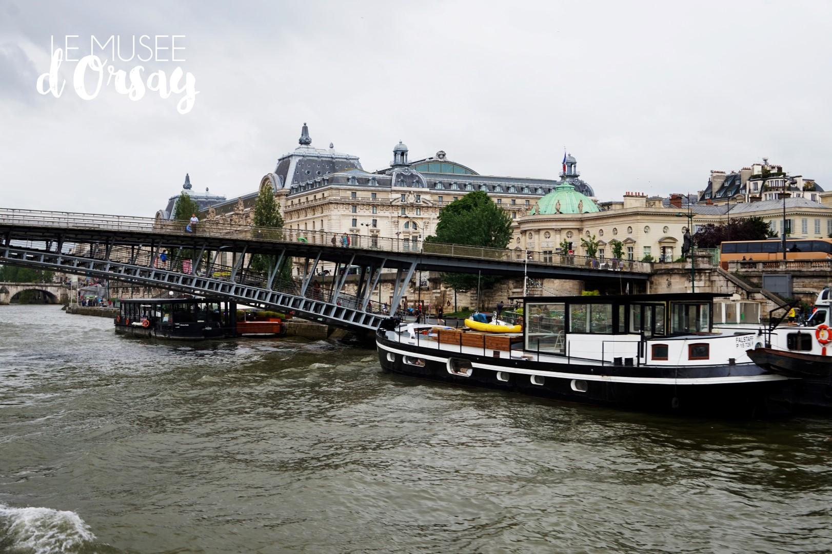 Croisière sur la Seine - Bateaux Parisiens - Musée d'Orsay