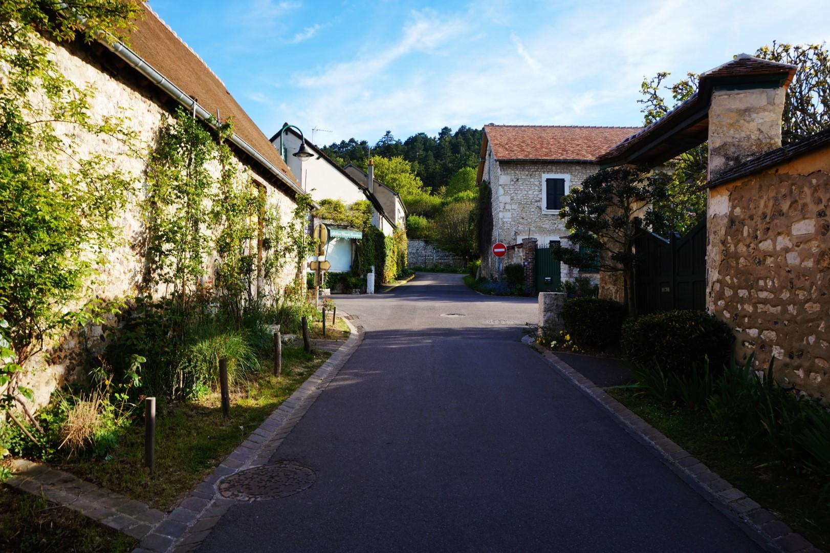 Balade dans Giverny le matin