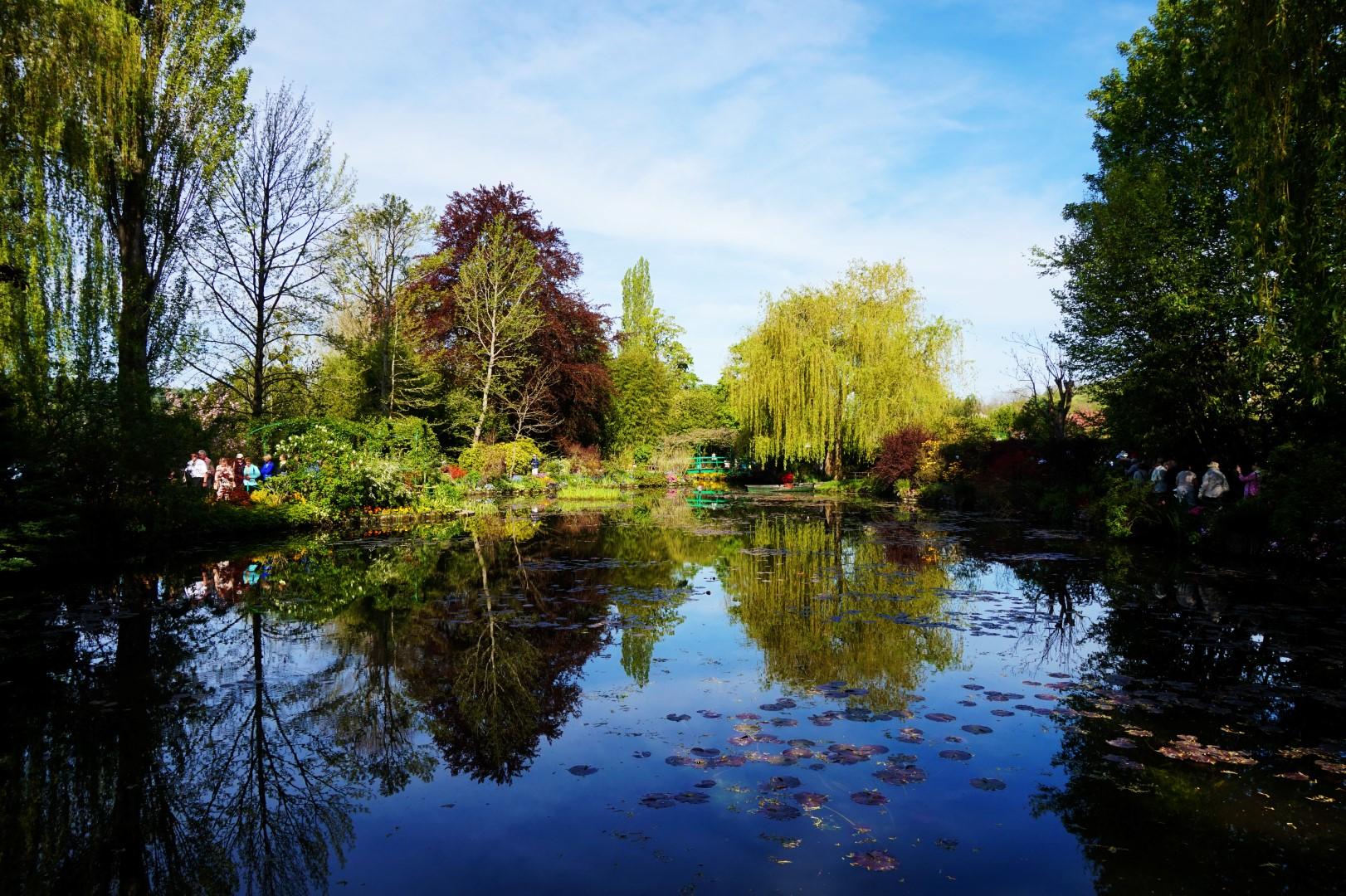 Morceaux de Paris #7 - Le Jardin d'Eau de Monet