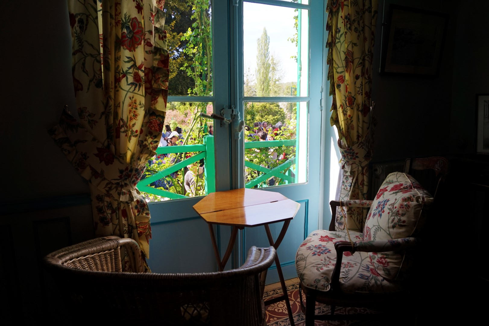 Balade dans les jardins de Monet - le Clos Normand, intérieur