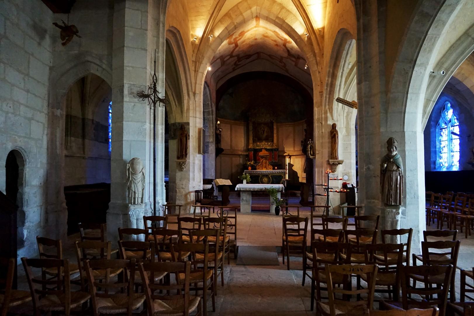 Balade dans Giverny - Eglise Sainte-Radegonde