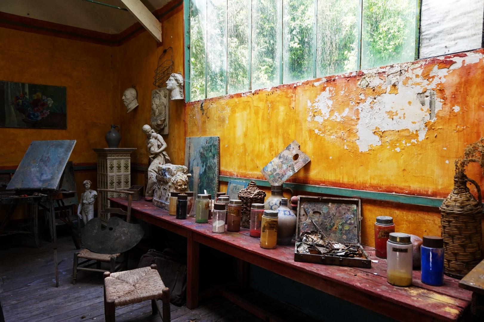 Balade dans Giverny - Hôtel Baudy
