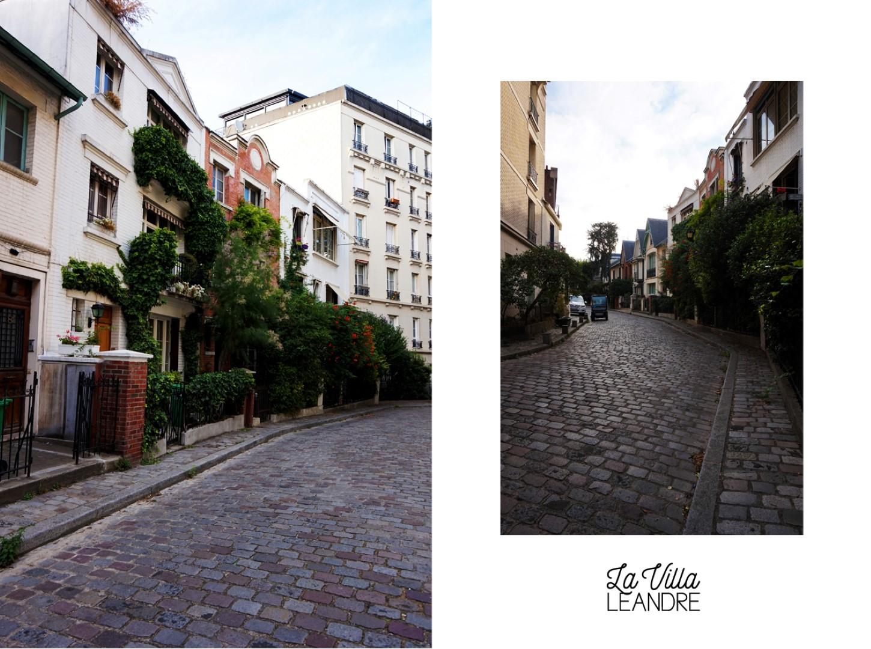 Balade dans le 18e - Quartier de Montmartre - Villa Leandre