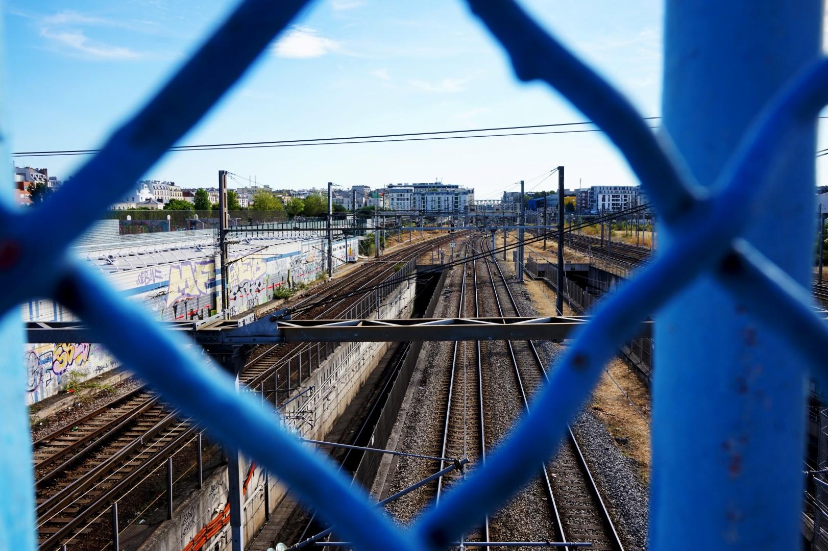 Balade 18e - Voies Gare de l'Est