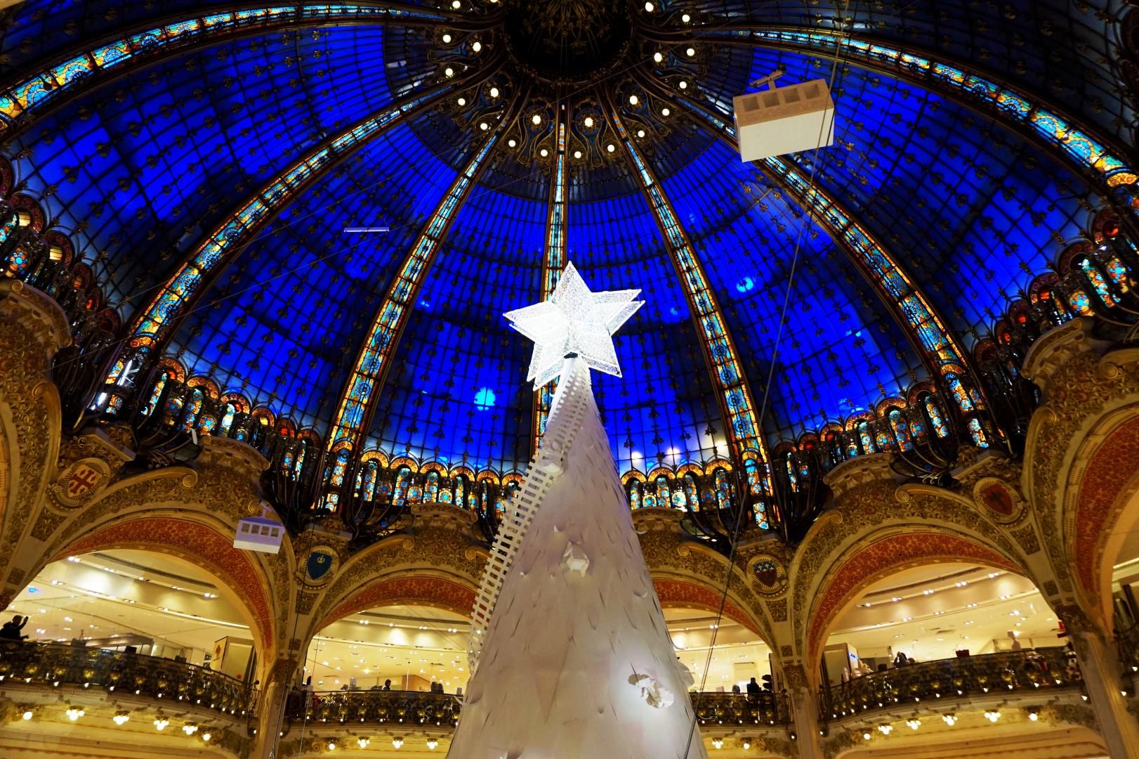 Sapin de Noël - Galeries Lafayette