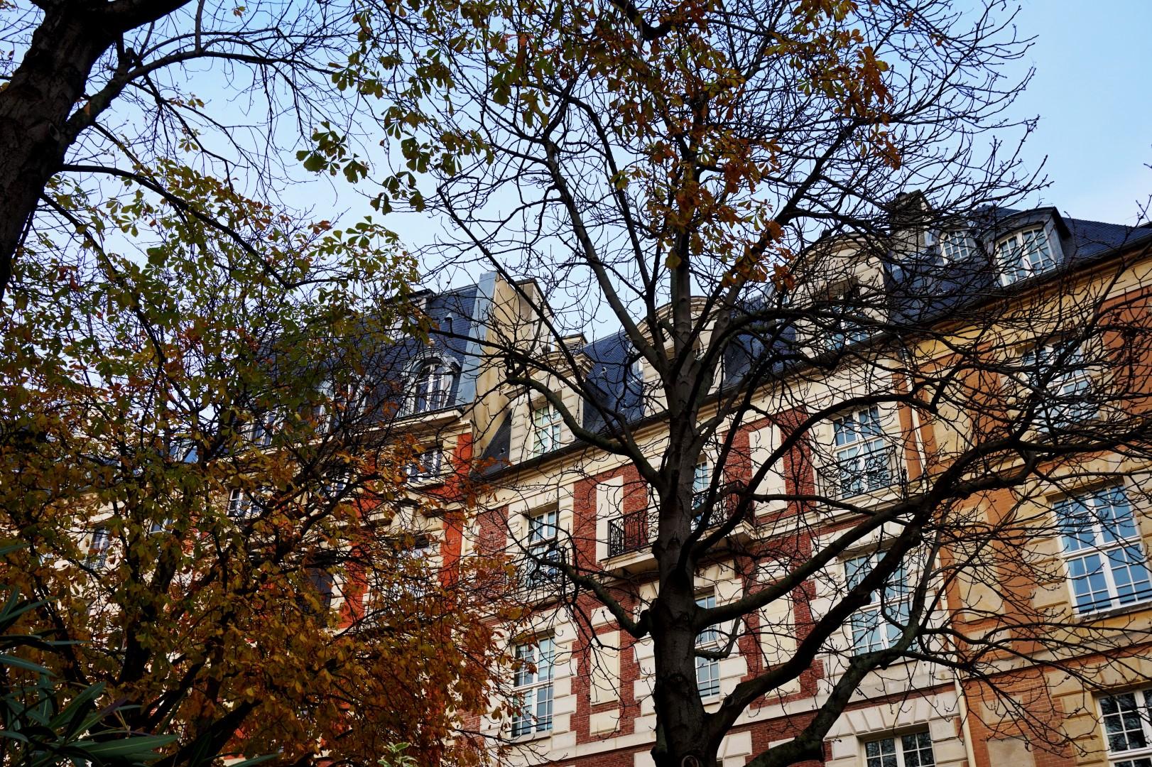 Place Dauphine, paris 4e