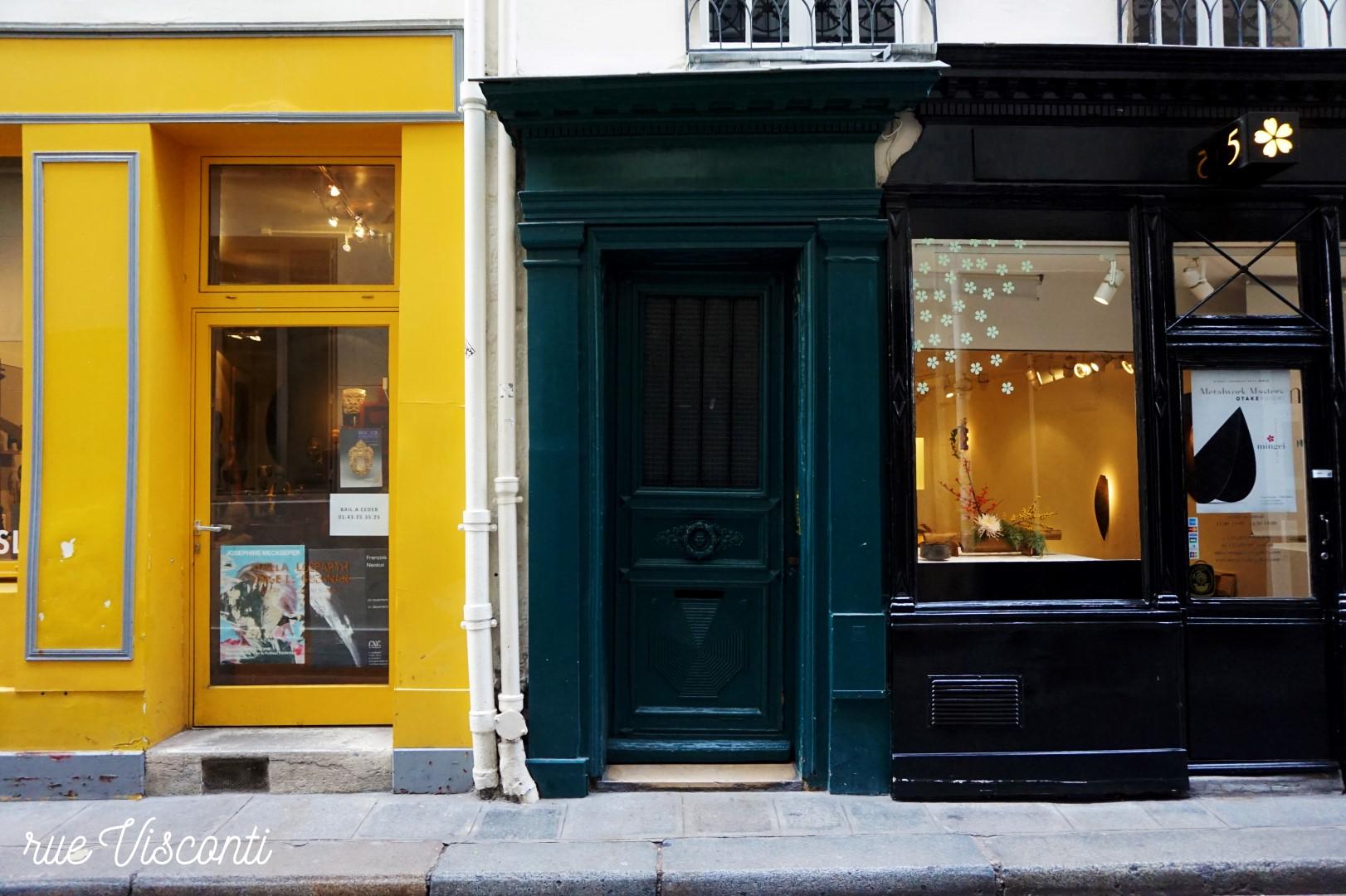 rue de Visconti - Paris 6e