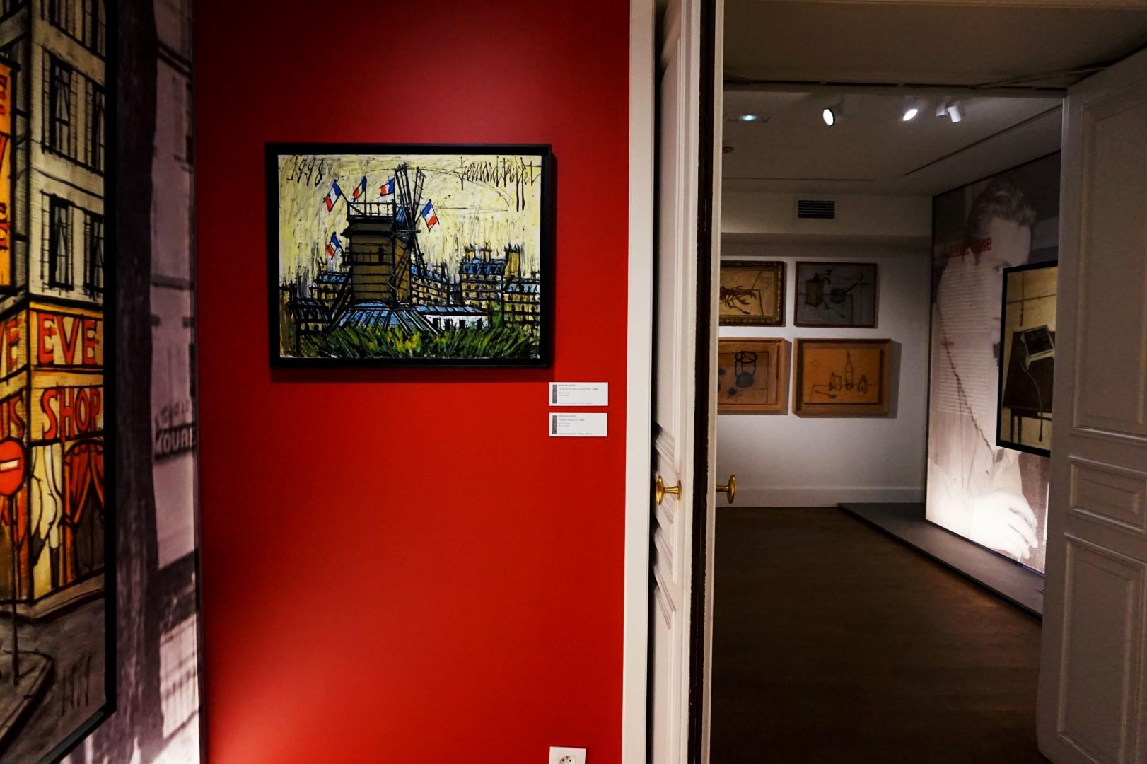 Musée de Montmartre, Exposition Bernard Buffet - Paris 18e