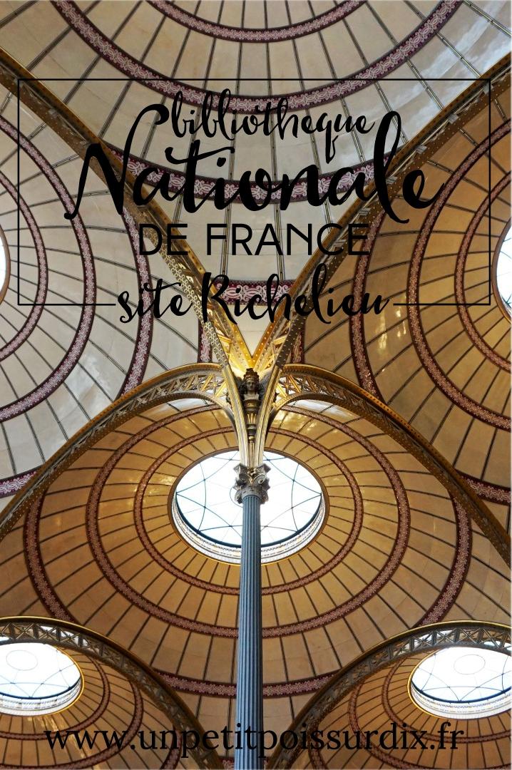 Découverte de la bibliothèque Richelieu - Salle Labrouste