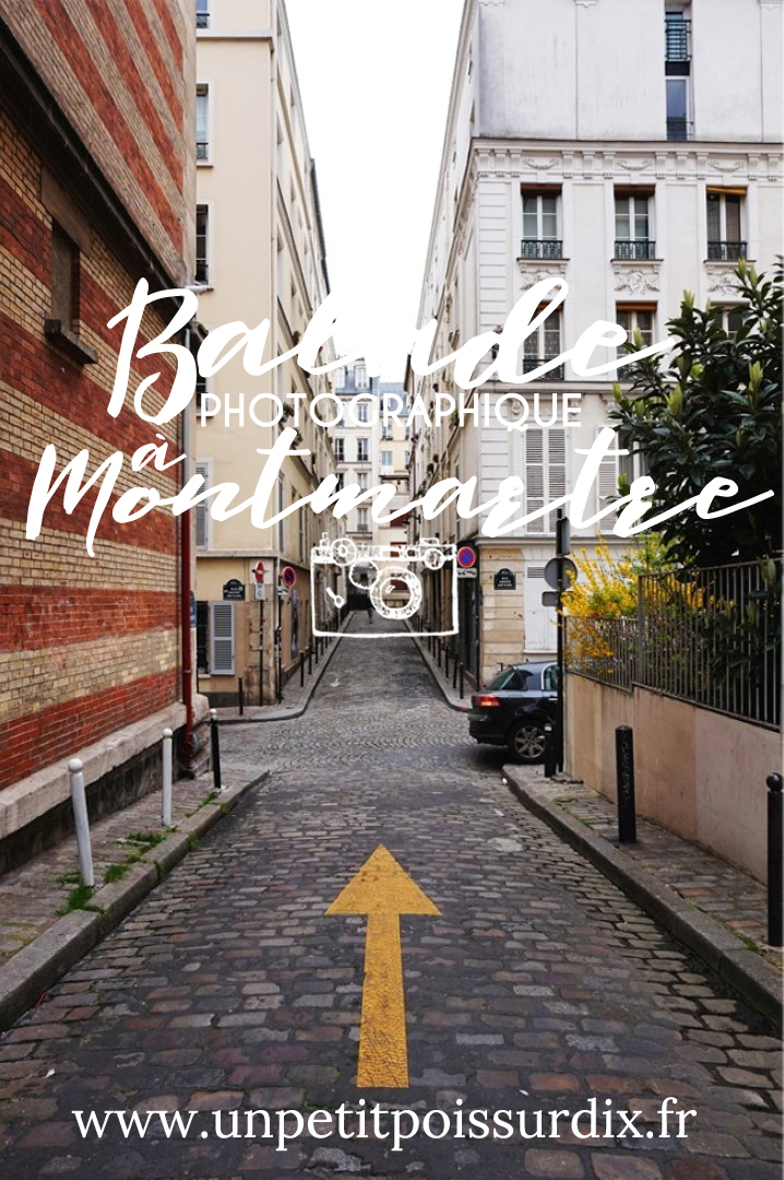Balade photographique et street art à Montmartre