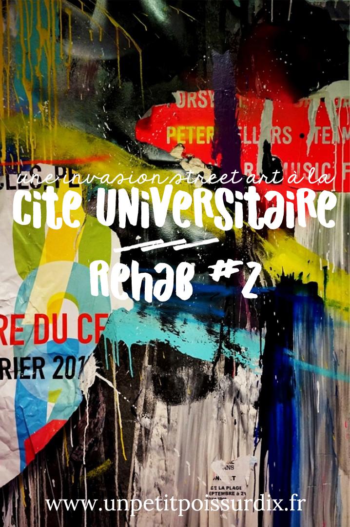 Street art à la Cité Universitaire - Rehab #2